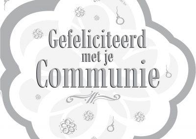 Communie-Deurbord